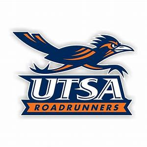Utsa texas san antonio roadrunners b die cut decal 4 for Vinyl lettering san antonio