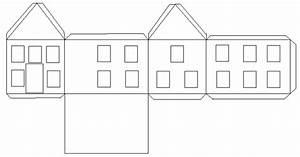 Haus Aus Pappe Basteln : haus basteln pappe vorlage ~ A.2002-acura-tl-radio.info Haus und Dekorationen