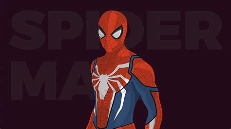 spiderman minimal artwork hd wallpapers hd wallpapers