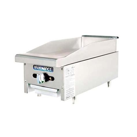 Countertop Griddle Gas by Turbo Air Tamg 12 Radiance 12 In Countertop Gas