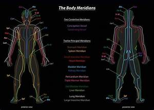 How Many Meridians Are There In Traditional Chinese