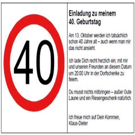 40 geburtstag einladung witzig einladungskarten
