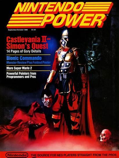 Nintendo Power Castlevania Simon Quest Ii Guide