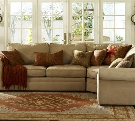 pottery barn sectional sectionals pottery barn decoration news