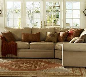 sectionals pottery barn decoration news With pearce sectional sofa pottery barn