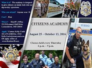 St. Mary's County Sheriff's Office - News: Open Enrollment ...