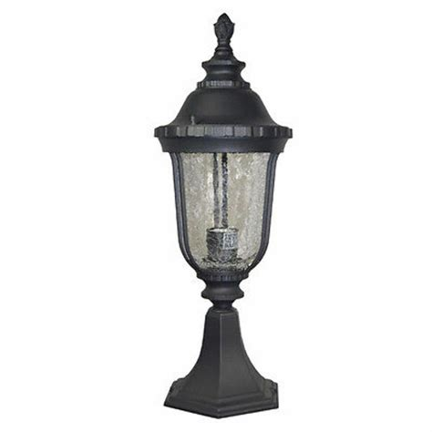 home deco gorgeous black finished outdoor post column