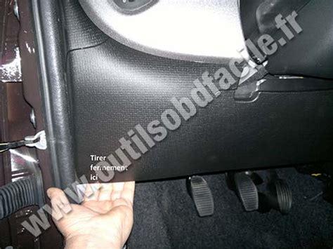 Fiat Sedici Fuse Box by Obd2 Connector Location In Fiat Panda 3 2012 Outils