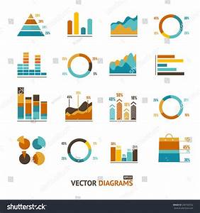 Infographic Set Elements  Graph And Charts  Diagrams