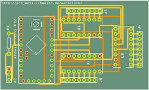 Circuit Board For The Wordclock  U2013 Projects
