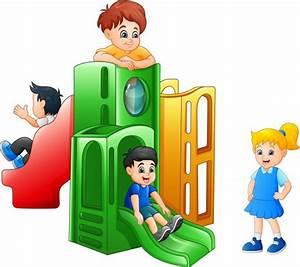 Ilustraci U00f3n De Dibujos Animados De Una Escalera De Madera