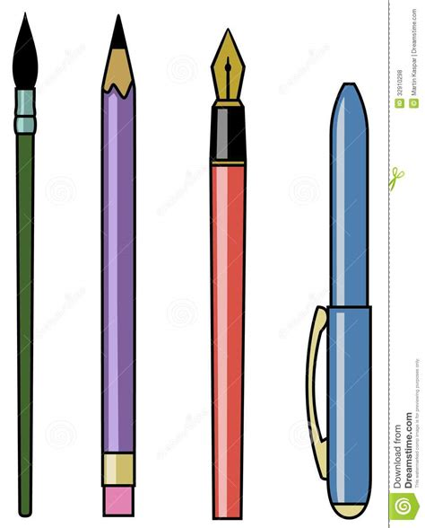 Writing Tools Clipart  Clipart Suggest