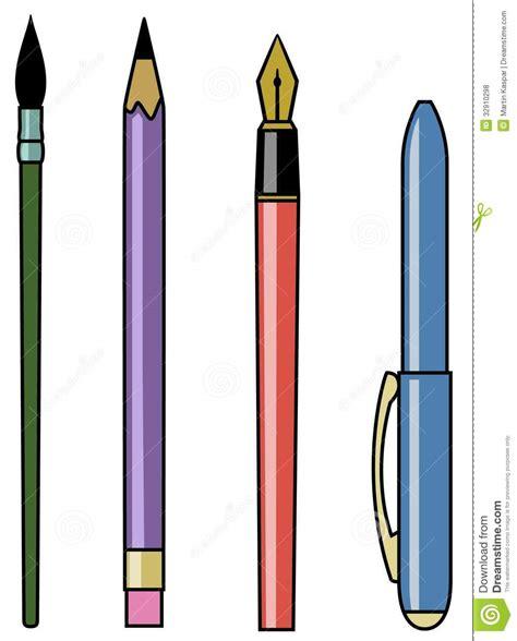 Writing Tools Royalty Free Stock Photos  Image 32910298