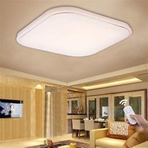 flush mount kitchen ceiling lights 36w 8640 lumens square led ceiling light dimmable with 6671