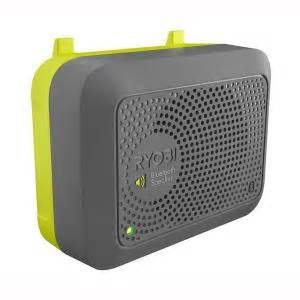 ryobi garage bluetooth wireless speaker accessory gdm