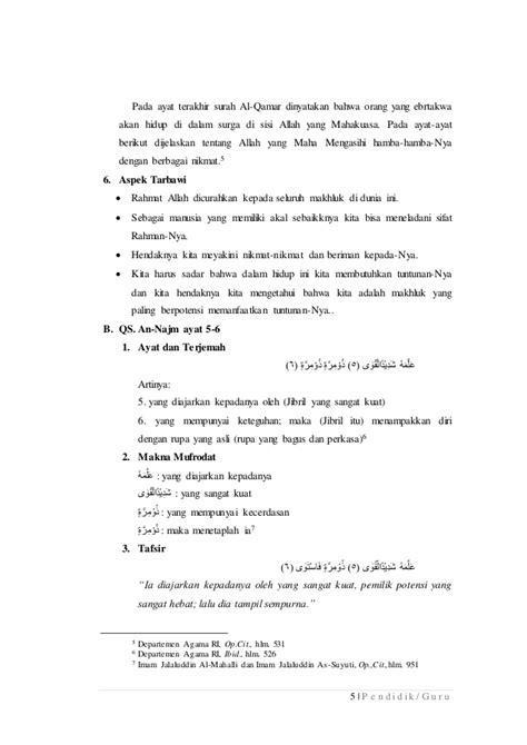 Revisi tafsir tarbawi