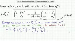 Determinante Berechnen 2x2 : mathematik nachhilfe videos vorlesungen bungen iii ~ Themetempest.com Abrechnung