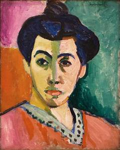 Culture Mechanism: Portrait of Madame Matisse by Henry ...