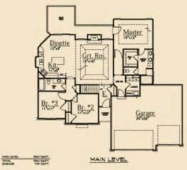 Split Bedroom Ranch Floor Plans by Split Bedroom Ranch Scape Homes