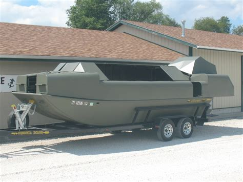 Duck Hunting Boat Dealers by Oquawka Boats And Fabrication Inc Hunting Boats
