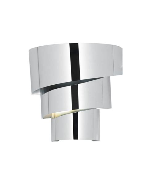 endon everett layered chrome wall light