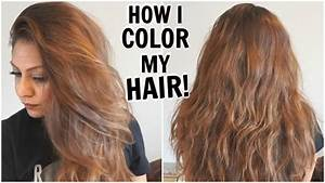 How I Dye My Hair Light Golden Brown At HomeHow I Color