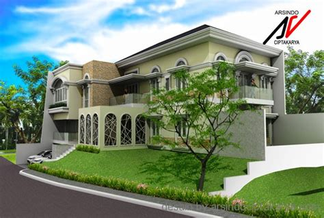 desain exterior rumah  bagus