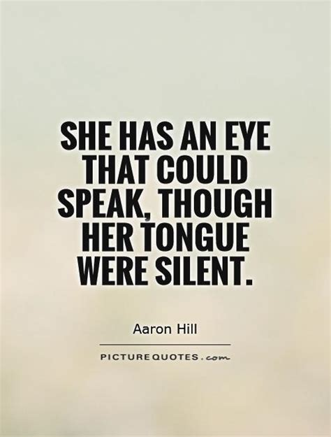 When She Is Silent Quotes