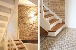 Altes Haus Sanieren Vorher Nachher : die besten 20 treppe renovieren ideen auf pinterest ~ Lizthompson.info Haus und Dekorationen