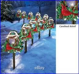 set of 10 birds outdoor yard lights decor new decor world