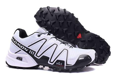 sepatu all start high end product salomon speedcross 3 white black