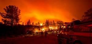 EN IMAGES Face De Monstrueux Incendies La Californie
