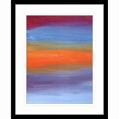 Modern Abstracts Framed Wishlist Wall
