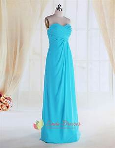 Turquoise bridesmaid dresses for beach weddingturquoise for Turquoise dress for wedding guest
