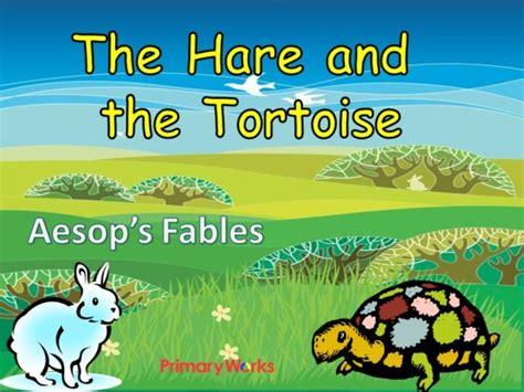 Powerpoint Aesop's Fables Hare & The Tortoise For Ks2