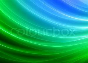 Grün Und Blau : gr n und blau verschwommen wellen und geschwungene linien hintergrund stockfoto colourbox ~ Udekor.club Haus und Dekorationen