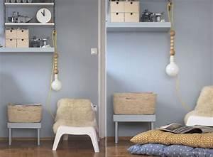 Kinderzimmer Blau Grau : farbfreude blaugraue wand im kinderzimmer kolorat ~ Markanthonyermac.com Haus und Dekorationen