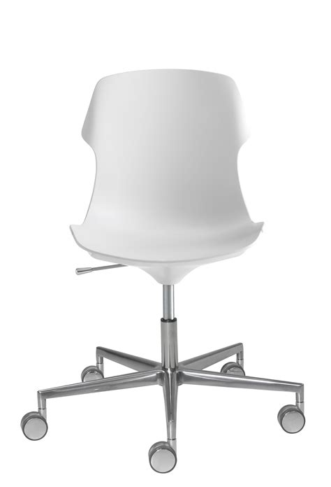stereo armchair on casters with castors adjustable