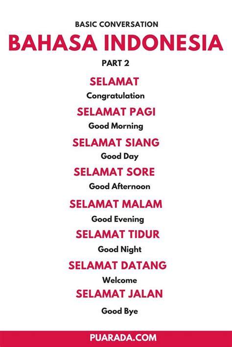 basic  bahasa indonesia