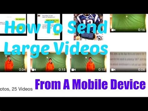 how to send large from iphone how to send large files from a mobile device