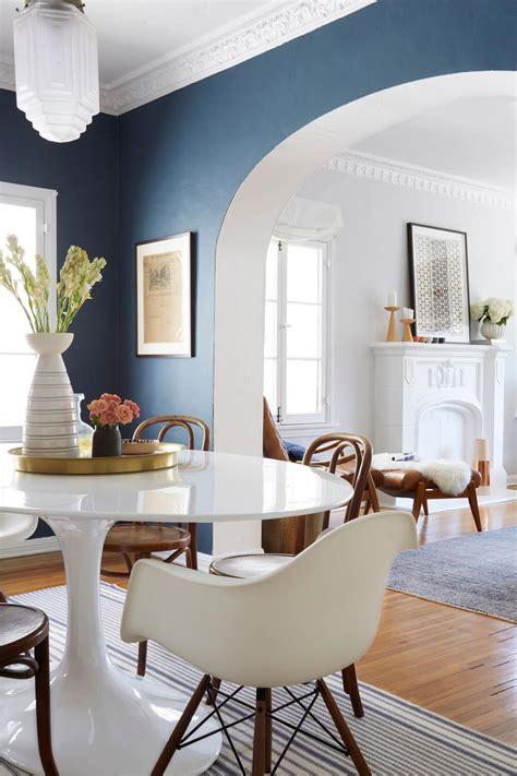 ginny s dining room reveal interior inspiration dining room paint colors dining room blue