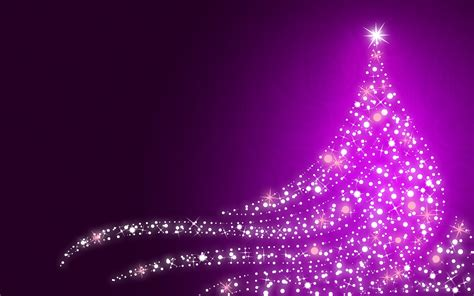 purple christmas tree full hd wallpaper and background