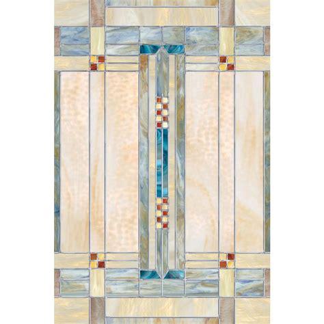 artscape 24 in x 36 in artisan decorative window film 01