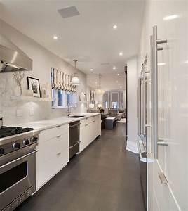 Galley Kitchen Ideas - Contemporary - kitchen - Ruby Photo ...