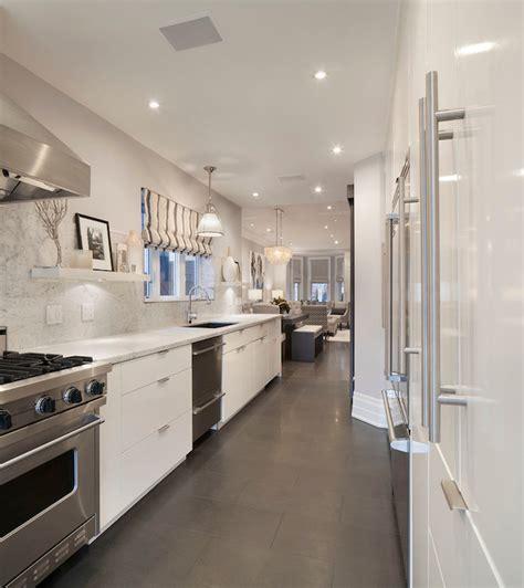 Galley Kitchen Ideas   Contemporary   kitchen   Ruby Photo