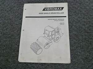 Vibromax 602b Single Drum Roller Electrical Wiring