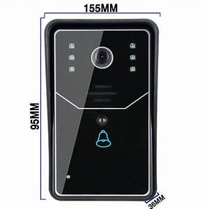 Ennio Sywifi001 Door Bell Wireless Smart Video Doorbell