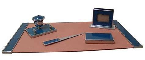american desk set american art deco silvercrest desk set modernism