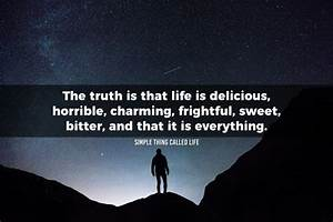The truth is th... Sweet Delicacies Quotes