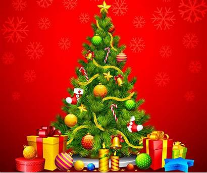 Tree Background Christmas Backgrounds Colorful Lights Widescreen